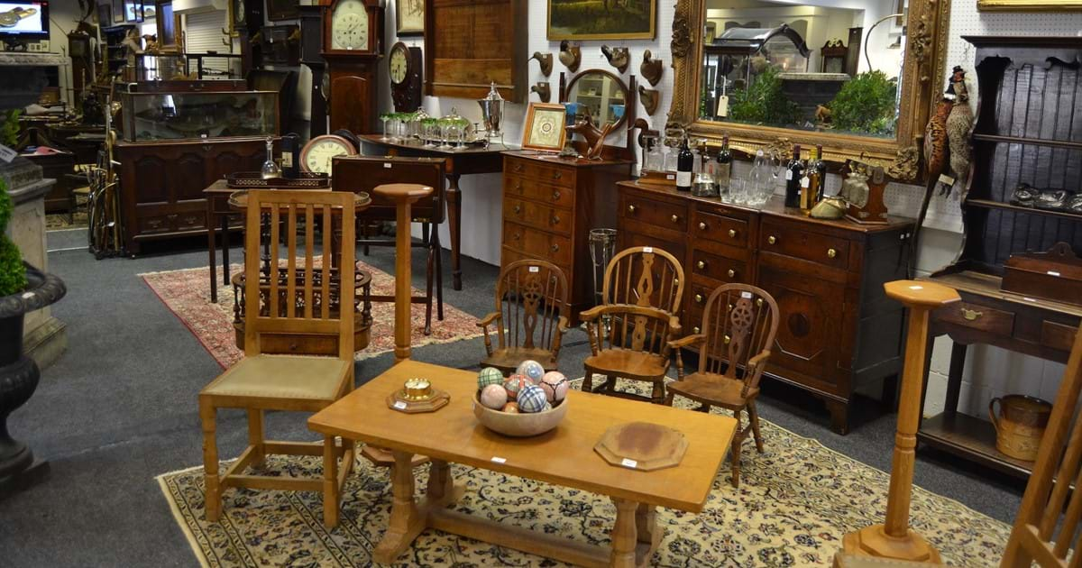 Country Home Interiors & Collectors Auction Image