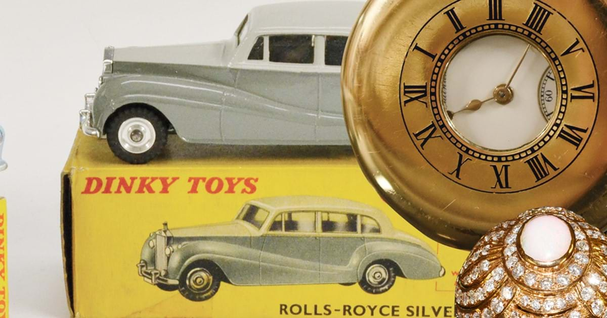 Silver, Jewellery, Toys & Collectibles Auction Image