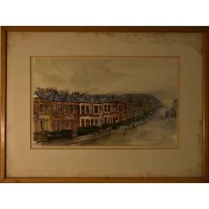 Anthony Gross Allison Road, Finsbury signed and dated 1939